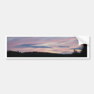 Finland at Sunset Bumper Sticker