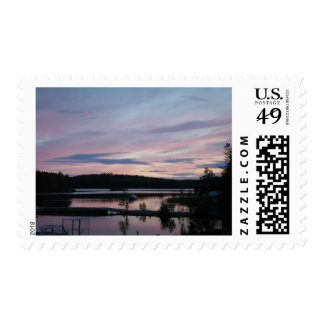 Finland at Sunset Postage