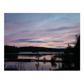 Finland at Sunset Postcard