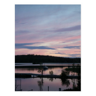 Finland at Sunset Postcard