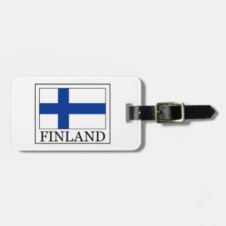 Finland Bag Tag