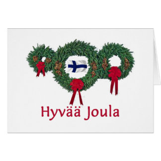 Finland Christmas 2 Card