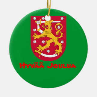 FINLAND*- Christmas Ornament