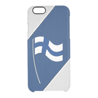 Finland Clear iPhone 6/6S Case