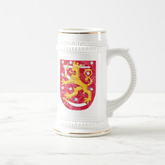 Finland Coat Of Arms Beer Stein