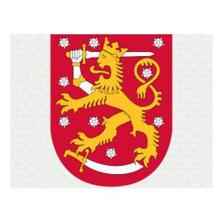 Finland Coat of Arms detail Post Cards