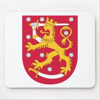 Finland Coat of arms FI Mouse Pad