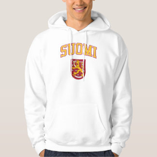 Finland + Coat of Arms Hooded Sweatshirt