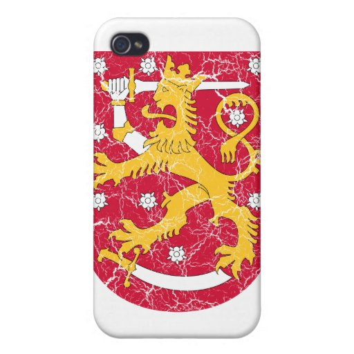 Finland Coat Of Arms iPhone 4/4S Cases
