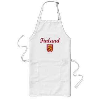 Finland + Coat of Arms Long Apron