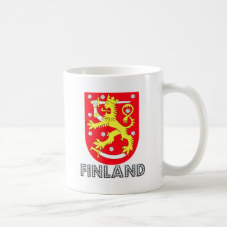 Finland Coat of Arms Classic White Coffee Mug