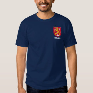 FInland Coat of Arms Pocket Design T Shirts