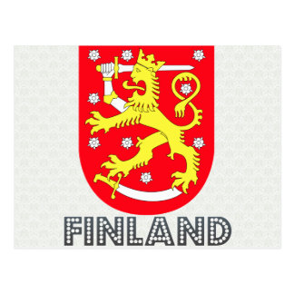 Finland Coat of Arms Postcard