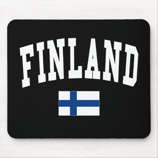 Finland College Style Mouse Pad