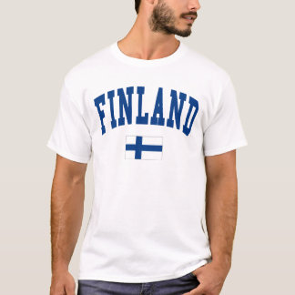 Finland College Style T-Shirt