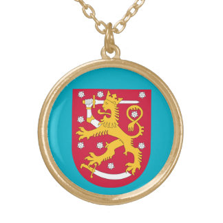 Finland Crest Ladies Necklace