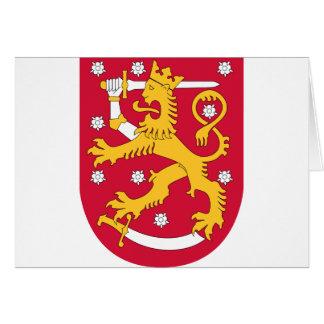 finland emblem card