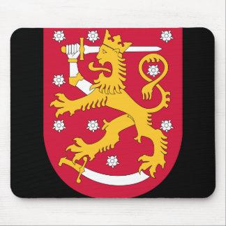 finland emblem mouse pad