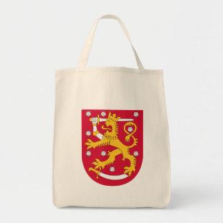 finland emblem tote bag