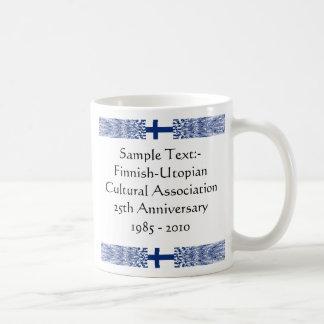 Finland eText ~ Flagcolor Map Mug