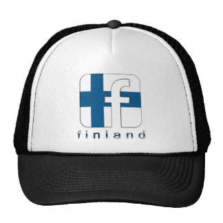 Finland Facebook Logo Unique Awesome Popular Trucker Hats