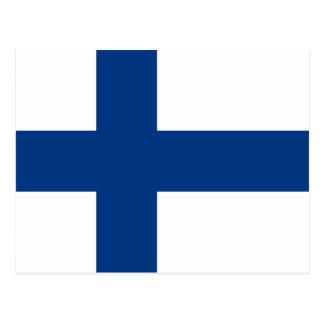 Finland – Finnish Flag Postcard