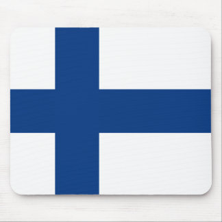 Finland – Finnish National Flag Mouse Pad