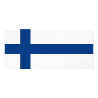 Finland – Finnish National Flag Rack Card Design