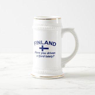 Finland Fjord Beer Stein
