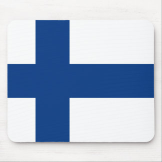 Finland Flag FI Mouse Pad