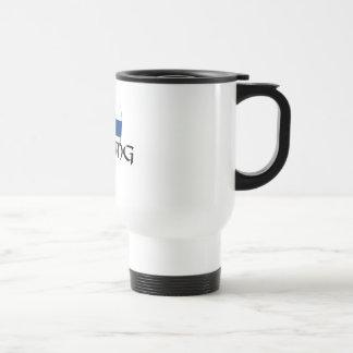 Finland flag Finnish Suomi Viking Axe Coffee Mugs