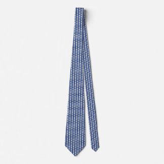 Finland Flag Honeycomb Tie