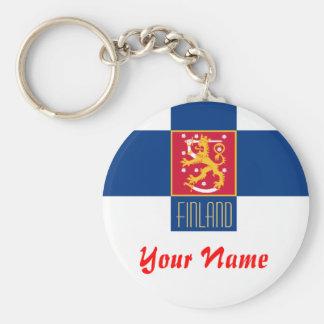 Finland-  FLAG Keychain