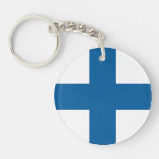 Finland Flag Keychain