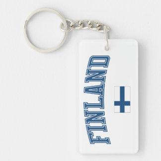 Finland + Flag Keychain