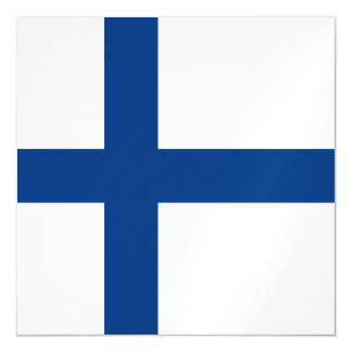 Finland Flag Magnetic Card