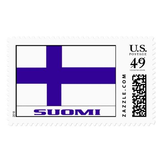 "Finland Flag   ""SUOMI"" Postage"