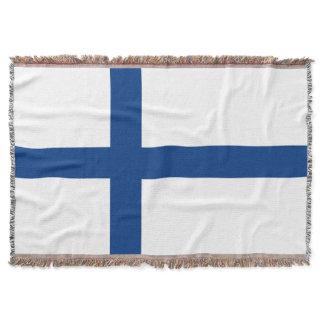 Finland Flag Throw