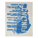 Finland Funland List 2 Colossal Poster/Print Poster