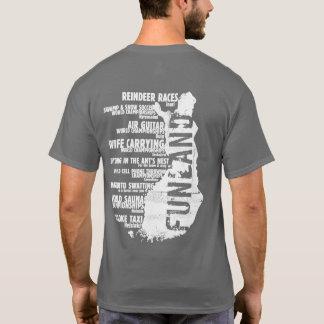 Finland Funland List 4 Back T-shirt