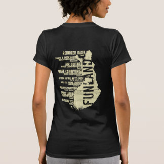 Finland Funland List 6 Back T-shirt