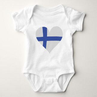 Finland heart icon tee shirt