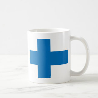 Finland High quality Flag Classic White Coffee Mug