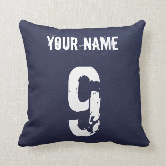 Finland Ice Hockey Logo Pillow with Name Number