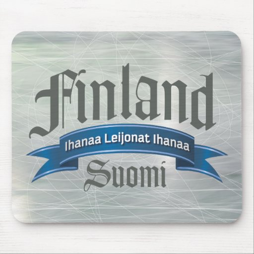Finland Ihanaa Leijonat Mouse Pad