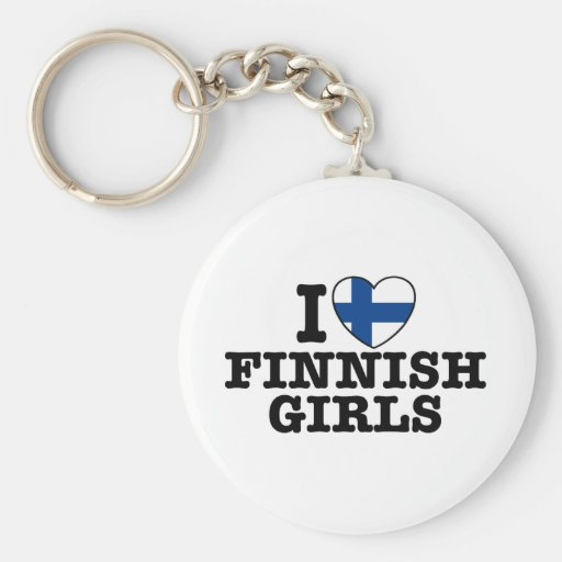 Finland Key Chain