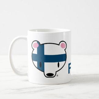 Finland kuma-chan coffee mug
