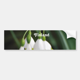 Finland Lily of the Valley Bumper Stickers