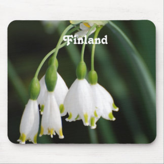 Finland Lily of the Valley Mousepad
