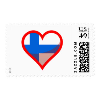 Finland Love Postage